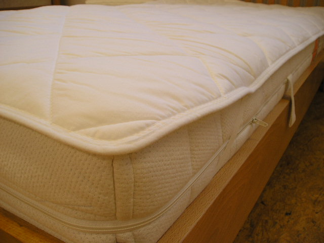 Baumwoll Unterbett