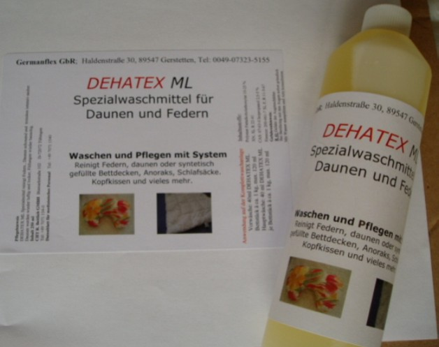 Daunenwaschmittel DEHATEX ML