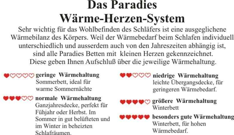 Paradies Waermeherzen