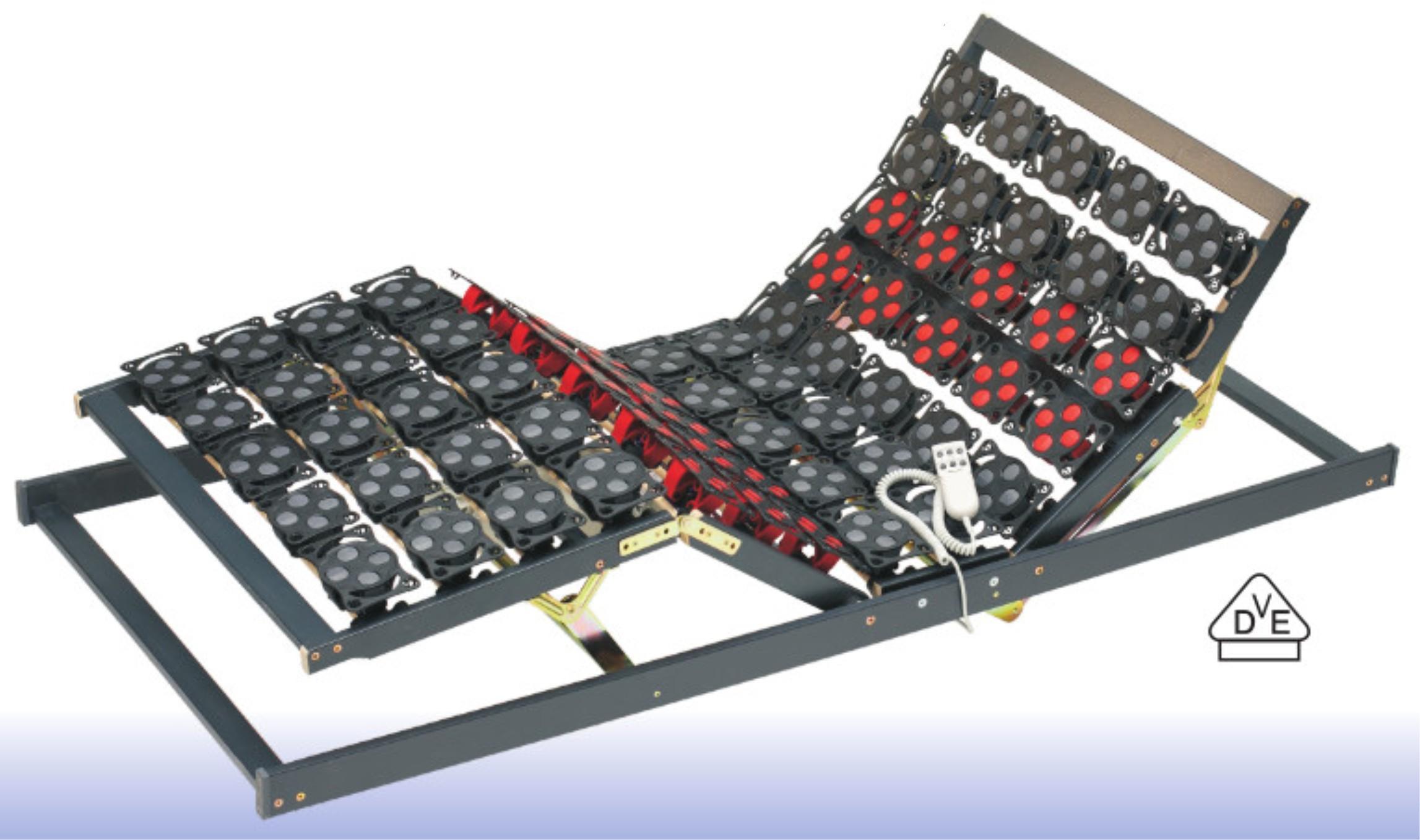 Germanflex diewohnidee Tellerrahmen motorisch verstellbar