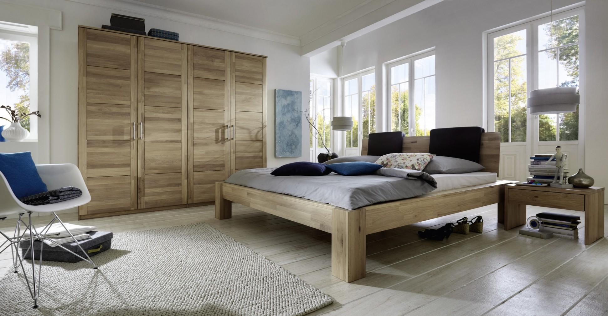 Naturbelassene massivholzbetten massivholzschlafzimmer in - Schlafzimmer stefan ...